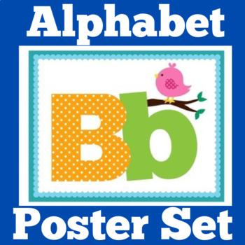 Alphabet Posters   Alphabet Cards   Kindergarten Alphabet Posters