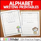 Alphabet Letters - Alphabet Writing Printables