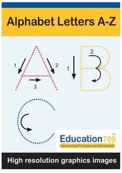 image regarding Printable Letters Az named Alphabet Letters A-Z Alphabet Printables Alphabet Tracing Worksheet