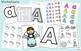 Alphabet Letters A through Z Weekly Worksheets and Activities