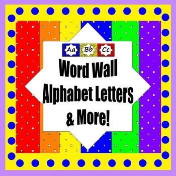 Alphabet Letters, ABC Book , Alpha Maps & matching Desk Tags