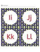 Alphabet Letters - Alphabet Letter Cards - Word Wall - Primary Colors