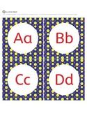 Alphabet Letters - Alphabet Letter Cards - Word Wall - Pri