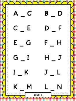 Alphabet Sequencing - Build Skills, Fluency w Flash Cards & Practice Printables