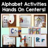 Alphabet Centers Bundle {10 Alphabet Activities for Kindergarten Centers!}