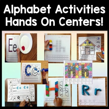 Alphabet Activities Bundle {ALL 10 Alphabet Centers!}