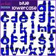Alphabet Letters Clip Art - Blue Crayon Letters {jen hart Clip Art)