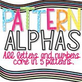 Alphabet Letters Clip Art | Bulletin Board Letters and Numbers