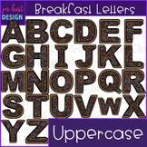 Alphabet Letters Clip Art - Donut Letters {jen hart Clip Art)