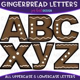 Alphabet Letters Clip Art - Gingerbread Letters {jen hart Clip Art}