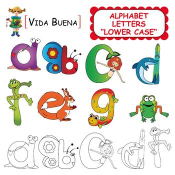 """Alphabet Letters Clip Art """"Lower Case"""""""