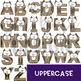 Alphabet Letters Clip Art - Owl Letters {jen hart Clip Art}