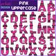 Alphabet Letters Clip Art - Pink Crayon Letters {jen hart Clip Art}