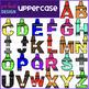Alphabet Letters Clip Art - Rainbow Crayon Letters {jen hart Clip Art}