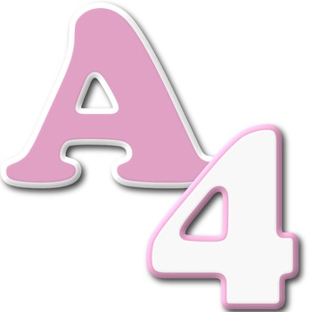 Alphabet Letters: Clipart  {GB004} COMMERCIAL USE