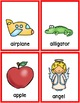 Alphabet Letters, Correct Formation &  Beginning Sounds Picture Cards