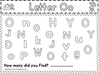 Alphabet Letters, Counting Letters Book