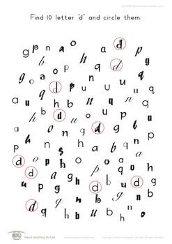 Alphabet Letters-Different Fonts