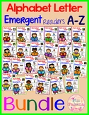 Alphabet Letters Emergent Readers A to Z Bundle
