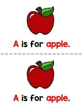 Alphabet Letters Emergent Readers A to Z Bundle