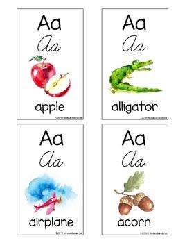 Alphabet Letters Flashcards