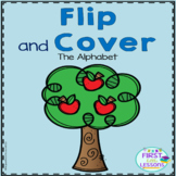 Alphabet Letters Flip And Cover Apple Themed