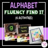 Alphabet Letters Fluency Find It