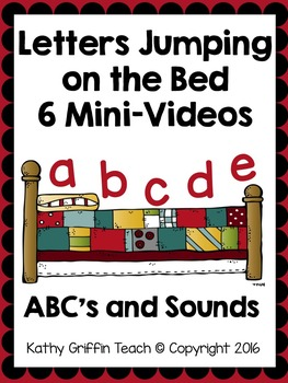 Alphabet Letters Jumping on the Bed Mini-Videos