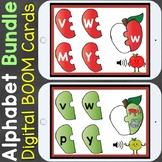 Alphabet Letters & Letter Sounds Apple Puzzles Digital Boo
