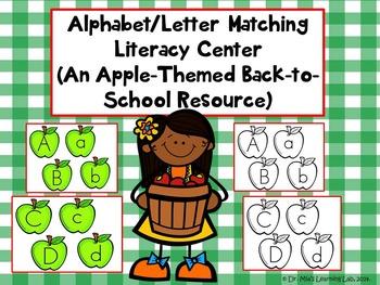 Apple Alphabet Literacy Centers