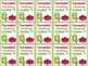 Alphabet Letters & Numbers Reward Tags Bundle Tags for Each Letter, Numbers 0-20