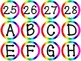 Alphabet Letters & Numbers wordwall, bulletin boards, ABC