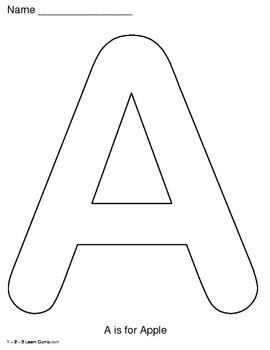 Alphabet Letters - Peel and Stick