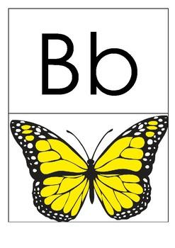 Alphabet Letters - Phonics - Flashcards