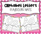 Alphabet Letters Playdough Mats