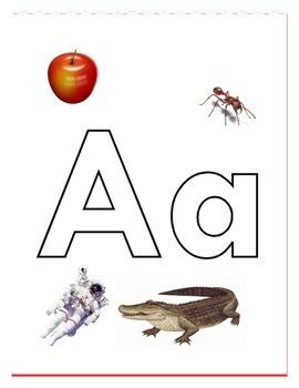 Alphabet Letters Poster