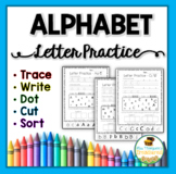 Alphabet Letters Practice Pages