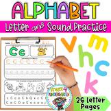 Alphabet & Letters Practice Pages {A-Z Letters & Sounds Practice}