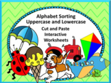 Alphabet Letters, Recognition Game,Alphabet Uppercase Lowercase,Special Ed