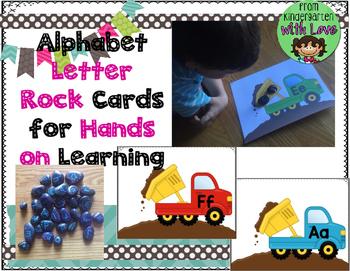 Alphabet Letters Rock Center
