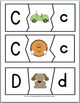 Alphabet Letters Puzzles