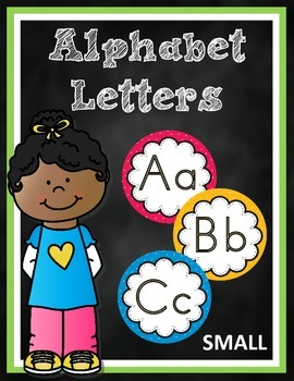 Alphabet Letters Small Version