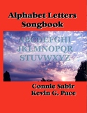 Alphabet Letters Songbook - Sheet Music book