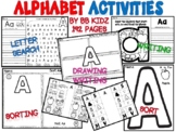 Alphabet/ Letters/ Sounds/ Sorts/ Searches (Learning Letters from A to Z)