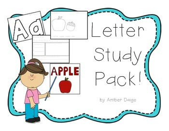 Alphabet Letters Study Pack