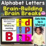 Alphabet Letters Uppercase Lowercase with Brain Breaks Goo