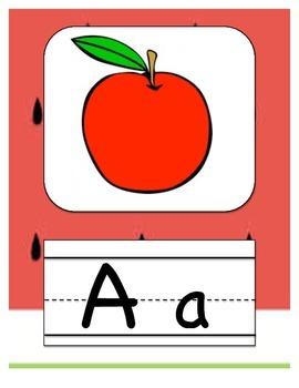 Alphabet Letters Watermelon Decor