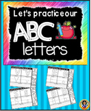Alphabet Letters Worksheets