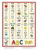 Alphabet Charts | Wall Cards | Handwriting | Predictable Books | Centers