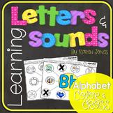 Alphabet Letters and Sounds {Alphabet Color & Cross}
